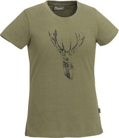 Bild på Pinewood Red Deer -naisten t-paita, vihreä
