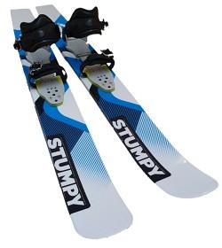Bild på Polar Ski Stumpy 160 cm + Universal-side -liukulumikengät