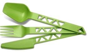 Bild på Primus Lightweight TrailCutlery -ruokailuvälineet, vihreä
