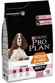Bild på Purina Pro Plan Medium&Large Adult 7+ - OPTIDERMA 14 kg
