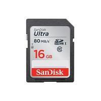 Bild på SanDisk Ultra 16 GB Class 10 SDHC -muistikortti