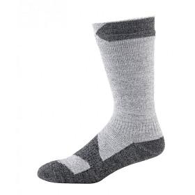Bild på Sealskinz Waterproof Walking Thin Mid Grey Marl/Dark Grey Marl
