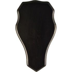 Bild på Stabilotherm -hirvitrofeen taustalevy, 48 x 25 cm, tumma tammi