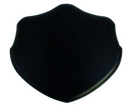 Bild på Stabilotherm -villisikatrofeen taustalevy, 22,5 x 26 cm, tumma tammi