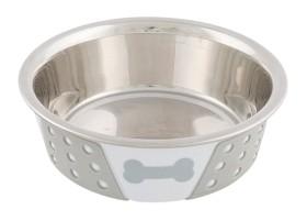 Bild på Trixie -koiran ruokakuppi silikonipohjalla, 0,4 l