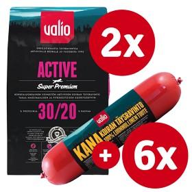 Bild på Valio Active -tuotepaketti kanamakkaralla