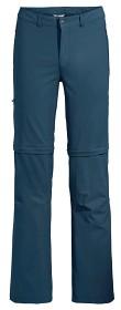 Bild på Vaude Men's Farley Stretch ZO Pants katkolahjehousut, sininen