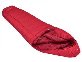 Bild på Vaude Sioux 400 S SYN -makuupussi vasen tummanpunainen